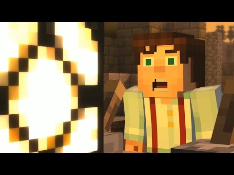 Minecraft Story Mode - THE LOST TEMPLE! - Order Of The Stone - Part [3]