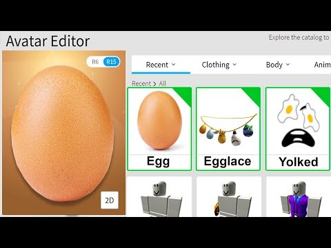 MAKING WORLD RECORD EGG A ROBLOX ACCOUNT..