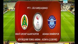 Multi Group Alanyaspor 4-2 Adana Demirspor PLAY-OFF FİNALİ