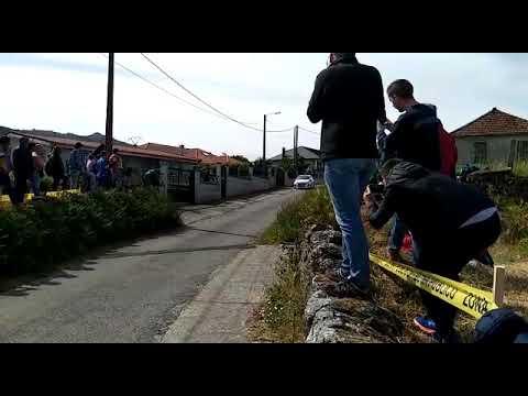 Diego Félix a su paso por el tramo de Vilar de Condes