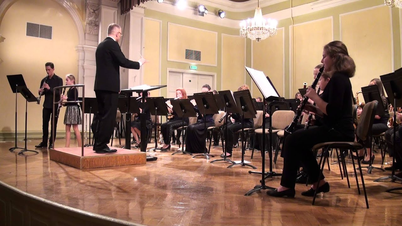 """00609 VII Baltijas valstu pūtēju orķestru diriģentu... forums, koncerts"""""""" Solo ar otķestri"""""""""""