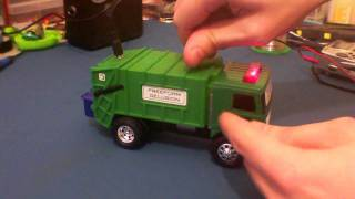 Circuit Bent Tonka Bin Truck by freeform delusion