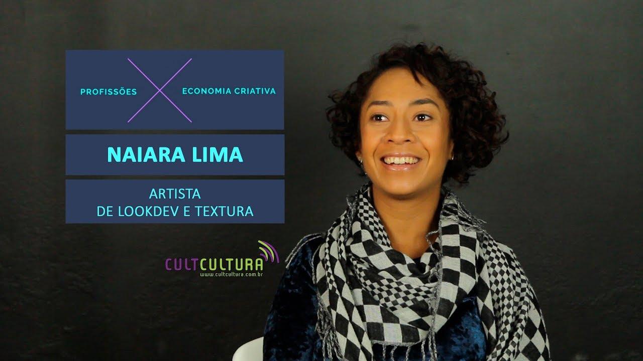 Saiba mais sobre o setor audiovisual 3D, com Naiara Lima