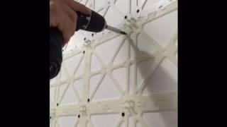 3d wall penta 3 boyutlu duvar kaplama paneli