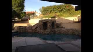 Pool Remodel Project With A Waterfall Addition by the Pool Guys Remodeling in San Dimas Glendora, CA