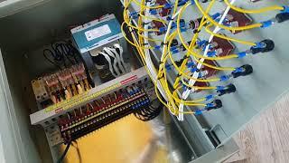 10개 비닐하우스 dc모터 수동 정역회전 콘트롤박스