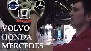 Все правильно сделал: Volvo S40, Honda CR-V, Mercedes