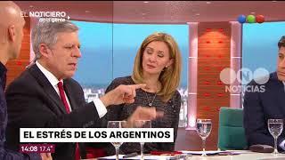 El estrés de los argentinos - El noticiero de la gente