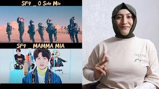 SF9 (에스에프나인)  'O Sole Mio'  &  'MAMMA MIA' REACTION | KP…