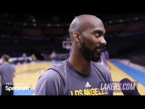 Corey Brewer First Interview as a Laker
