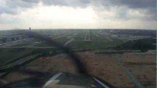 Cessna 182 Landing Hartsfield-Jackson Atlanta International Airport (KATL)