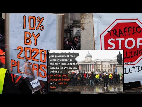 Stop Killing Cyclists: 2017 plea to the UK Treasury
