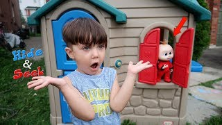 INCREDIBLES 2 Jack Jack Plays Hide And Seek with Zack! Family Fun Video