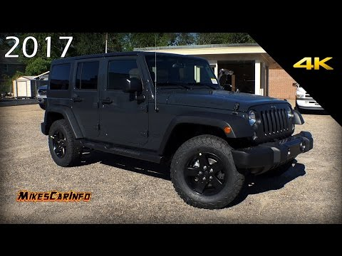 2017 Jeep Wrangler Unlimited Big Bear Special Edition Quick Look in 4K