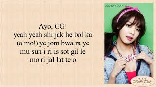 Gambar cover Girls' Generation (SNSD 소녀시대) – I GOT A BOY (Easy Lyrics)