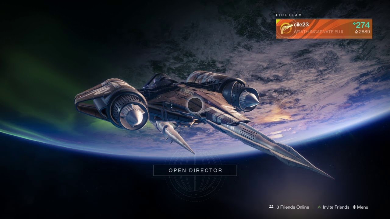 destiny 2 how to get to orbit