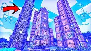 ДЕРЕВНЯ ЖИТЕЛЕЙ ПОД ВОДОЙ В Майнкрафте! Minecraft Мультики Майнкрафт троллинг Нуб и Про