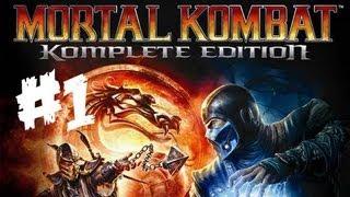 Mortal Kombat: Komplete Edition - Modo Historia - Parte 1 - Pc Gameplay - Español