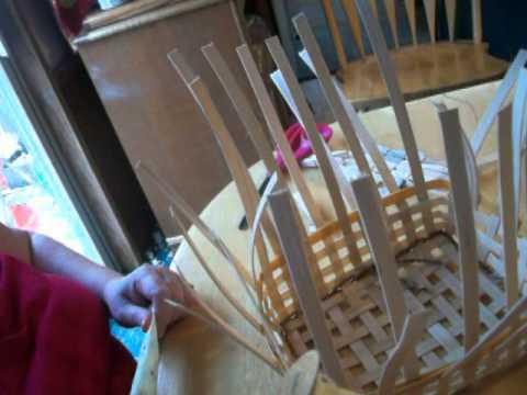 Making a quick basket Start to finish