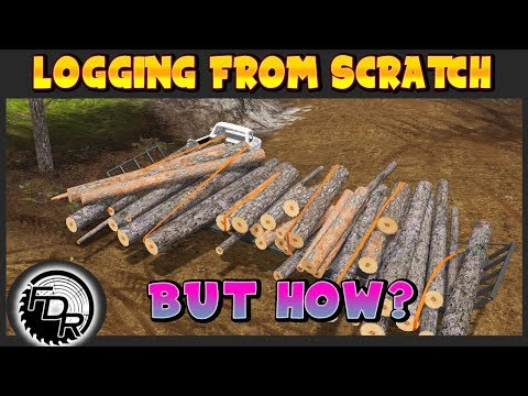 Hardest Load To The Mill! | Farming Simulator 2017 | Logging From Scratch #22 thumbnail