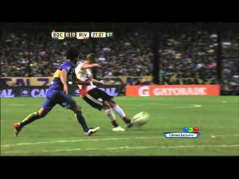 Otro tiro de D'Alessandro y gol anulado a Alonso - Boca 0 - 0 River - Transición 2016