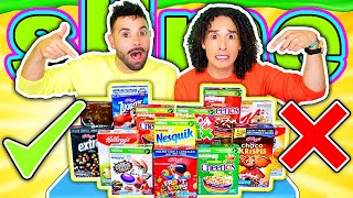 No elijas el Cereal INCORRECTO - Slime Challenge