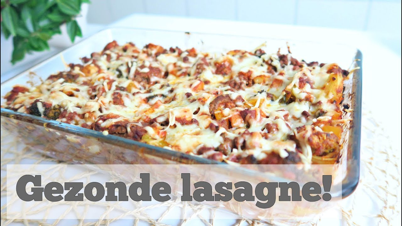 Recept: Gezonde Lasagne met Minder Calorieën! - YouTube