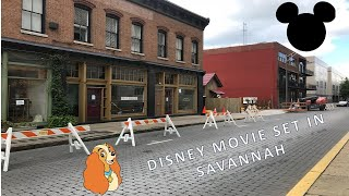 We found a Disney movie set in Savannah-Lady and the Tramp Live Action
