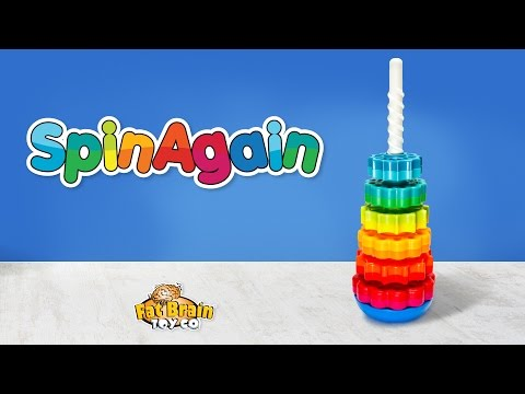 World's Best Stacking Toy: SpinAgain