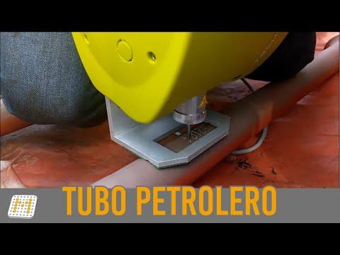 Marcacion Tuberia Petroleos  XM700 TECHNIFOR Marking - Marking oil pipeline