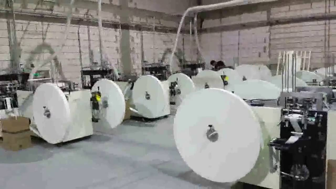 PAPER CUP MACHINES INSTALLED IN SAUDI ARABIA -WOOSUNG MACHINERY CO KOREA