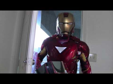 Iron Man Interactive Trick or Treat: START HERE!!!