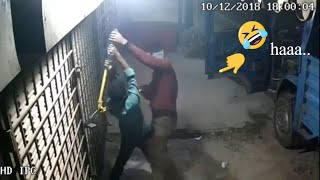 Download lagu Funniest robbery mission failed Watch till the End Caught on Cctv Cam ।