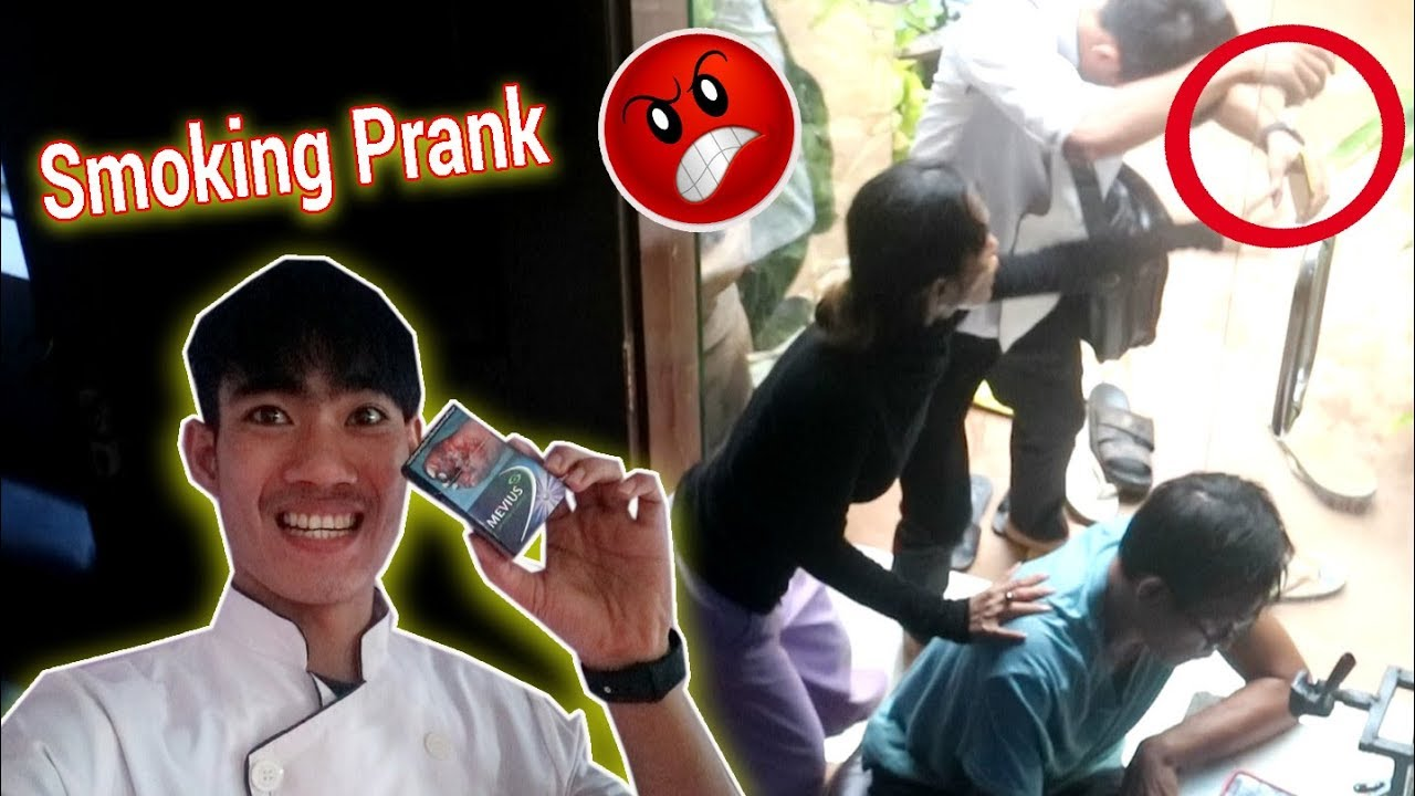 Smoking Prank On My Mom *Gone Wrong* Khmer Prank 2019/Drawing Life