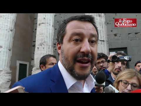 Casapound, Salvini: 'Sgombero? Obiettivo è non avere più immobili occupati a Roma'