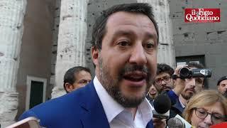 """Casapound, Salvini: """"Sgombero? Obiettivo è non avere più immobili occupati a Roma"""""""