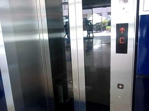 Talking Mitsubishi Elevator @Dubai Metro, Khalid Bin Al Waleed Station, UAE