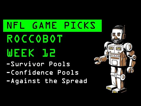 nfl-week-12-picks,-best-bets-and-survivor-pool-projections-|-against-the-spread-|-roccobot