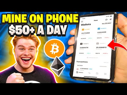 Easiest Way To MINE BITCOIN On Your PHONE For FREE! ($100+ A DAY)