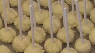 Mini Cheesecake Pops