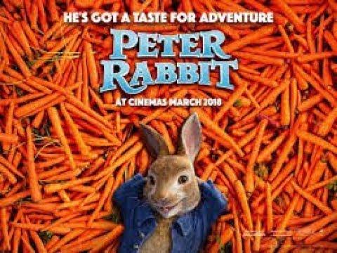 Питер кролик мультфильм