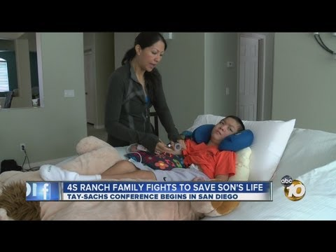 Local family battles Tay-Sachs disease, fights to save son's life