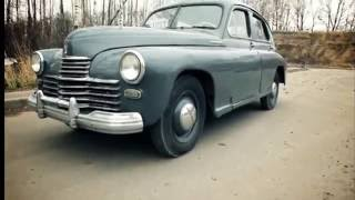USSR RETRO CAR GAZ-M20 POBEDA
