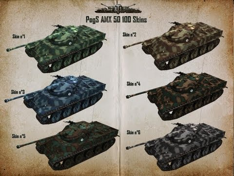 World Of Tanks - Kurs AMX 50 100 #19 - Port - Górny Cap