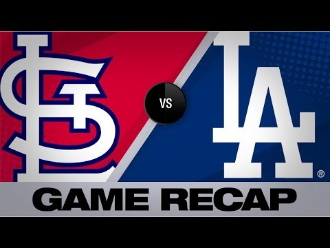 Martin walks it off with a single in the 9th | Cardinals-Dodgers Game Highlights 8/7/19