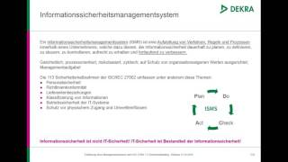 Webinar Informationssicherheit