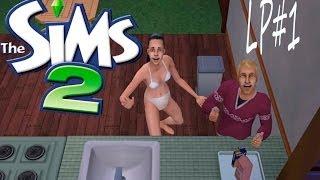 Давайте играть  с девушкой в The Sims 2 #1