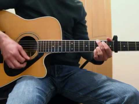 Troubador - George Strait - Guitar Lesson