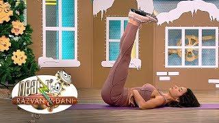 Fitness la Neatza! Exerciții speciale pentru abdomen