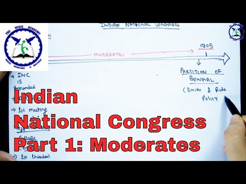 Modern History : Indian National Congress- Part 1 | SSC CGL | by TVA